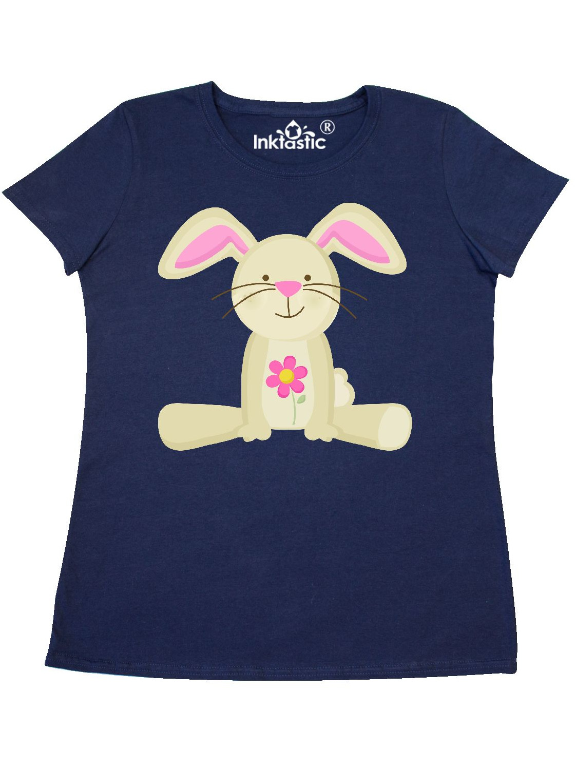 Easter Bunny Spring Holiday Childs Women's T-Shirt