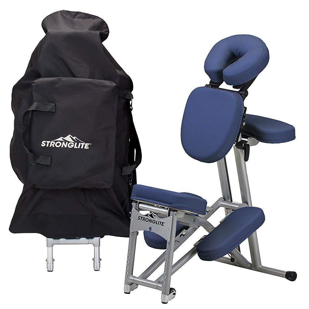 StrongLite ergo pro ii portable massage chair package - l...