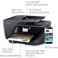 HP OfficeJet Pro 6978 All-in-One Wireless Printer with Double-Sided Print and Scan (T0F29A)