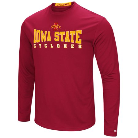 Iowa State Cyclones T-Shirt Performance Long Sleeve - Iowa Cyclones