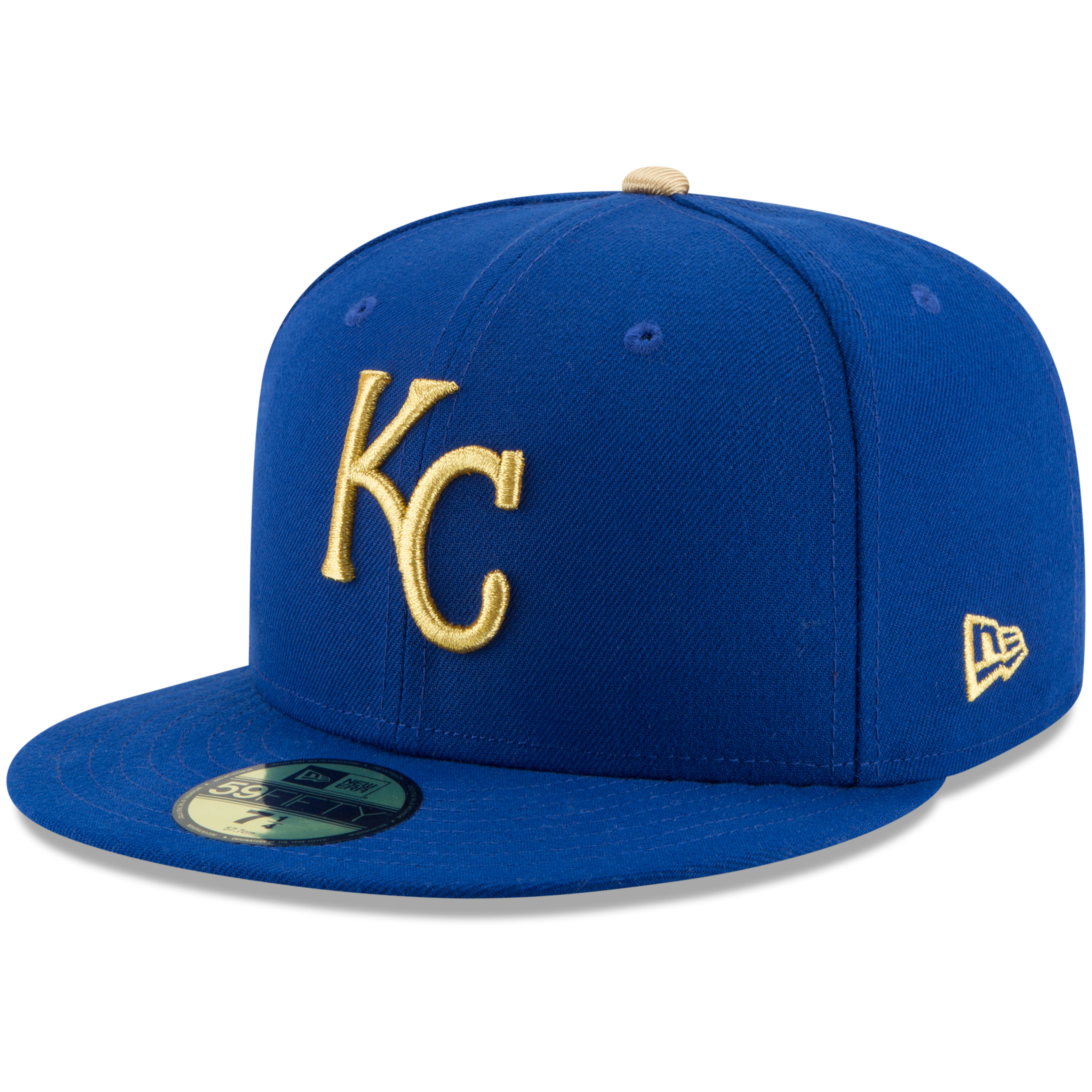 07179a2d59e kansas city royals new era authentic collection 59fifty fitted hat - royal  - Walmart.com