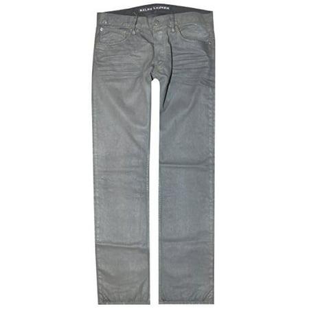Ralph Lauren Denim Men Black Label Black Tar Straight Jeans (32-32, Black Tar) ()