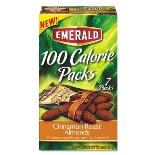 Snyders Lance Emerald 100 Calorie Packs Almonds, 7 ea