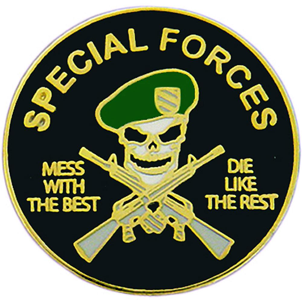 Special Forces Mess With The Best Pin 1