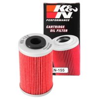 K&N Motorcycle Oil Filter: High Performance, Premium, Designed to be used with Synthetic or Conventional Oils: Fits Select KTM, Husqvarna Vehicles, KN-155