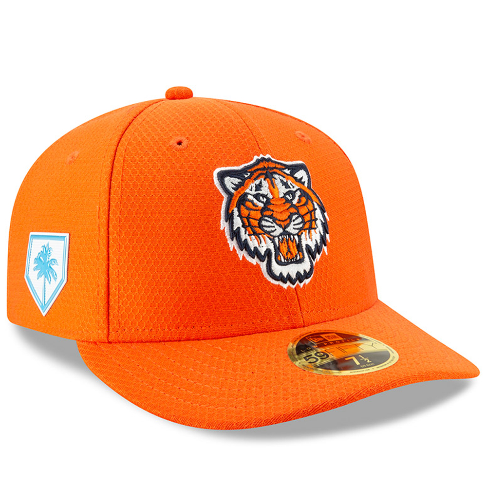 Detroit Tigers New Era Alternate 2019 Spring Training Low Profile 59FIFTY Fitted Hat - Orange