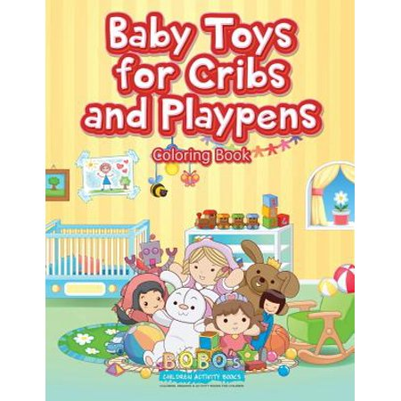 Baby Toys for Cribs and Playpens Coloring Book](Halloween Activities For Infants And Toddlers)