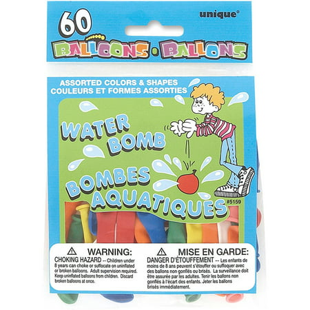 Latex Water Balloons, Assorted, - Water Ballons