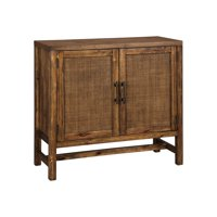Signature Design by Ashley Beckings Brown Accent Cabinet