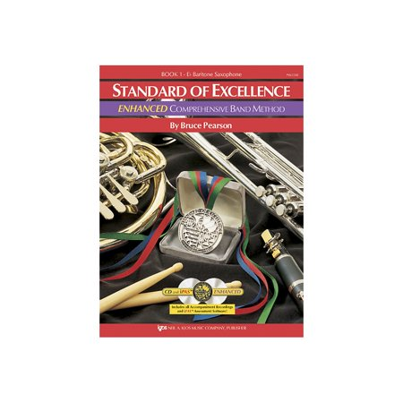 Excellence Comprehensive Band - KJOS Standard Of Excellence Book 1 Enhanced Baritone Sax Band Method