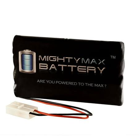 9.6V 2000mAh NiMH Battery For XMODS Custom RC 1:24 Scale Starter Kit ()