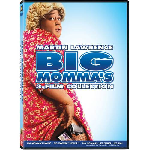 Big Momma's 3-Film Collection: Big Momma's House / Big Momma's House 2 / Big Mommas: Like Father, Like Son (Widescreen)