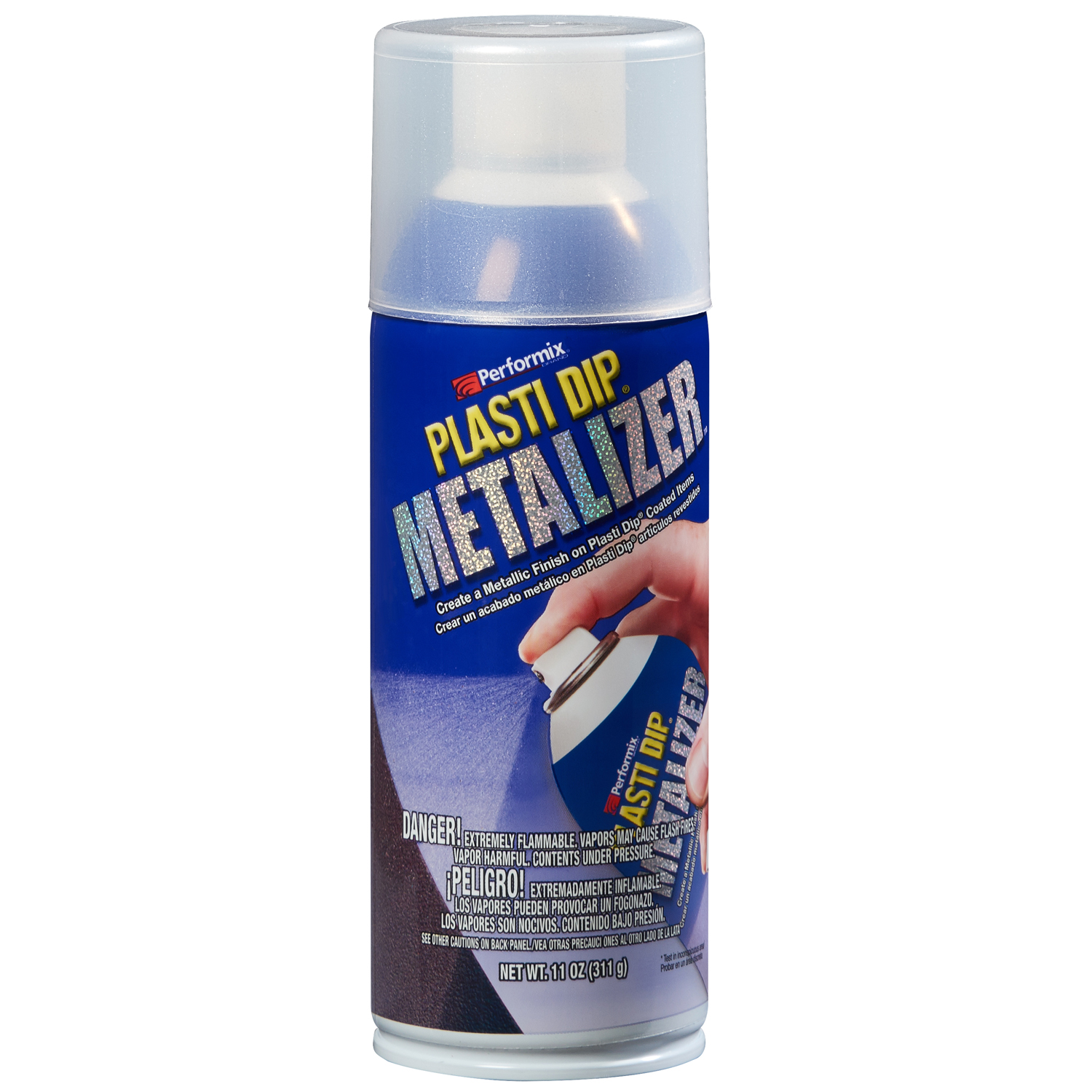 Plasti Dip Spray Metalizer, Silver, 11210-6