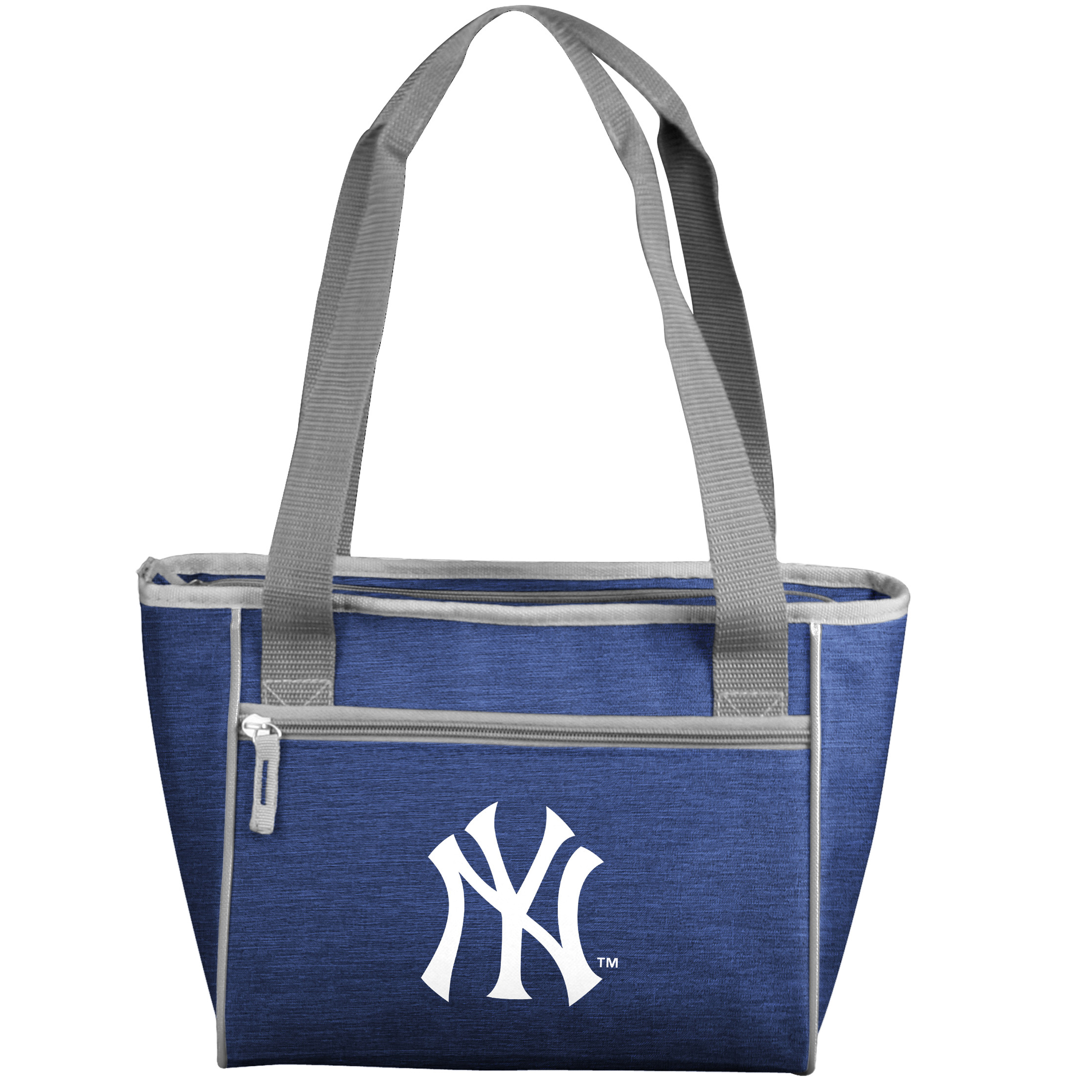 New York Yankees Logo Quartrefoil 16-Can Cooler Tote - No Size