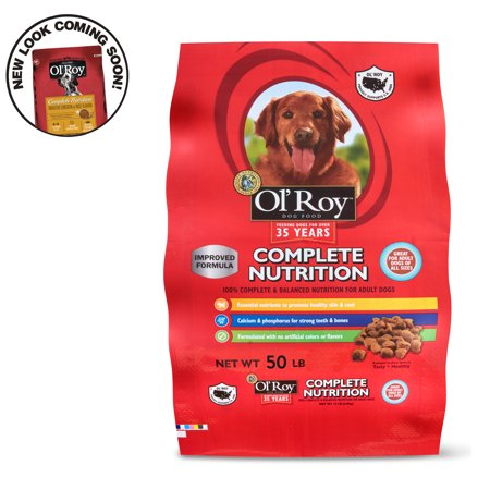 Ol' Roy Complete Nutrition Dog Food, 50 lb