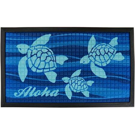 Aloha Honu Tropical Door Mat 30 X 17.75 inches - image 1 of 1