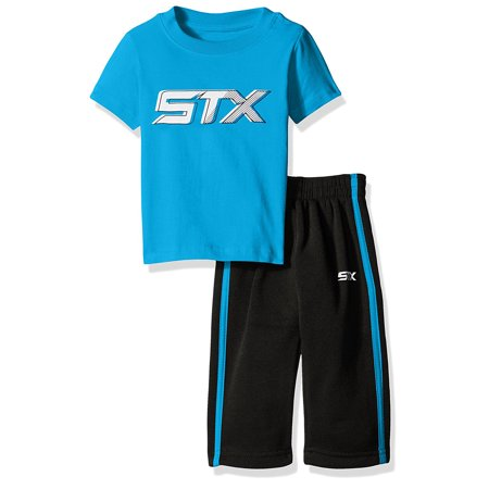 - Active Performance T-Shirt and Fleece Pant, 2-Piece Set (Little Boys)