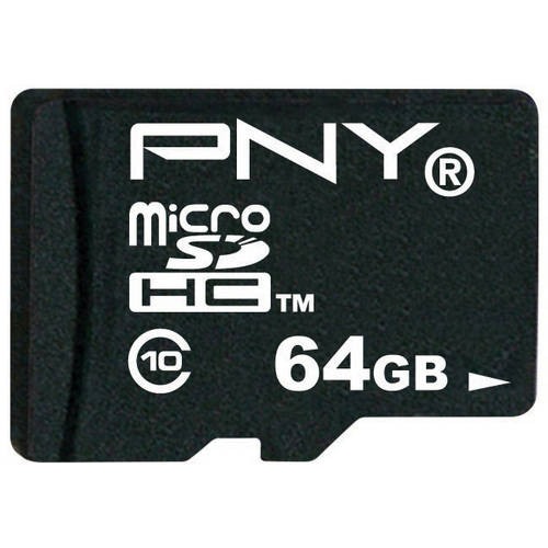 PNY Turbo Performance 64GB microSDXC Class 10 Memory Card