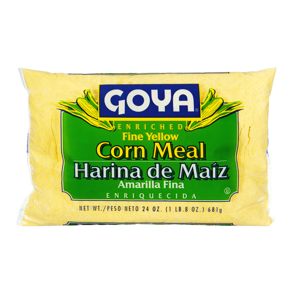 Goya Corn Meal Fine Yellow, 24.0 OZ
