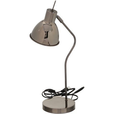 Mainstays™ Contemporary Task Lamp, Gray, Multiple Colors ()