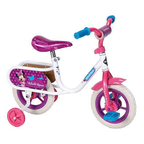 "10"" Huffy Disney Minnie Girls' Bike, White"