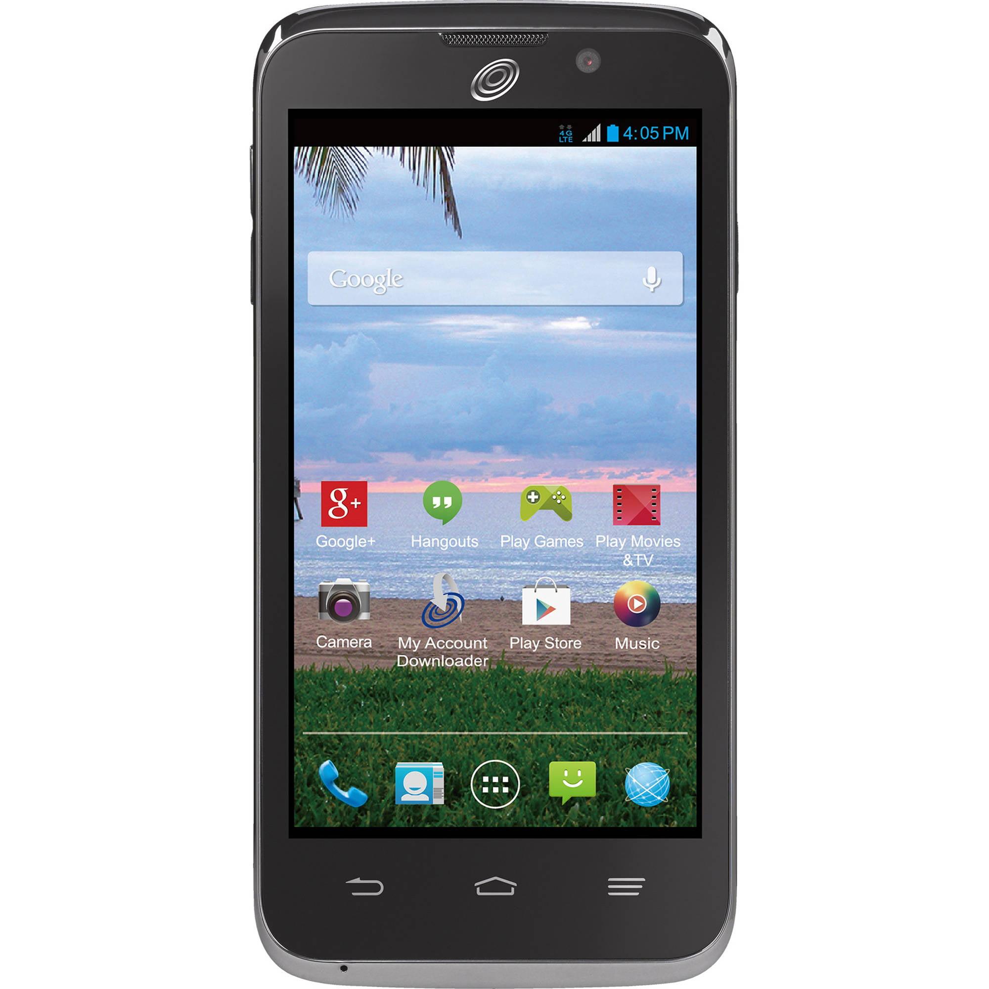 Straight Talk ZTE Rapido Android Prepaid Smartphone