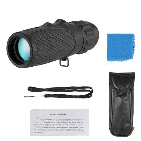 Monocular Telescope Birdwatching Eyepiece Mini Portable Handheld 10x25 Night Vision High Definition