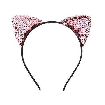 Lovely Kids Girls Shinning Cat Ear Headband Cute Head Hoop Children Hair Ornaments Headwear Sexy Hair Band - Deer Ears Headband