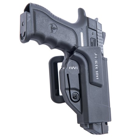 Orpaz Jericho 941 Gun Belt Holster Polymer 360 Rotation with Tension (Best Value Gun Belt)
