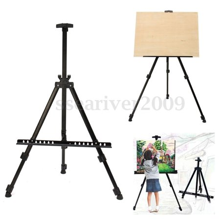 Zimtown Adjustable Artist Triopd Painting Drawing Easel Display Stand Whiteboard Holder Floor Sketching Exhibition, Wedding Studio, Collapsible New (Adjustable Floor Easel)