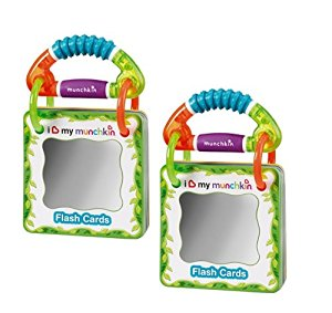 Munchkin Traveling Flash Cards - 2 Pack