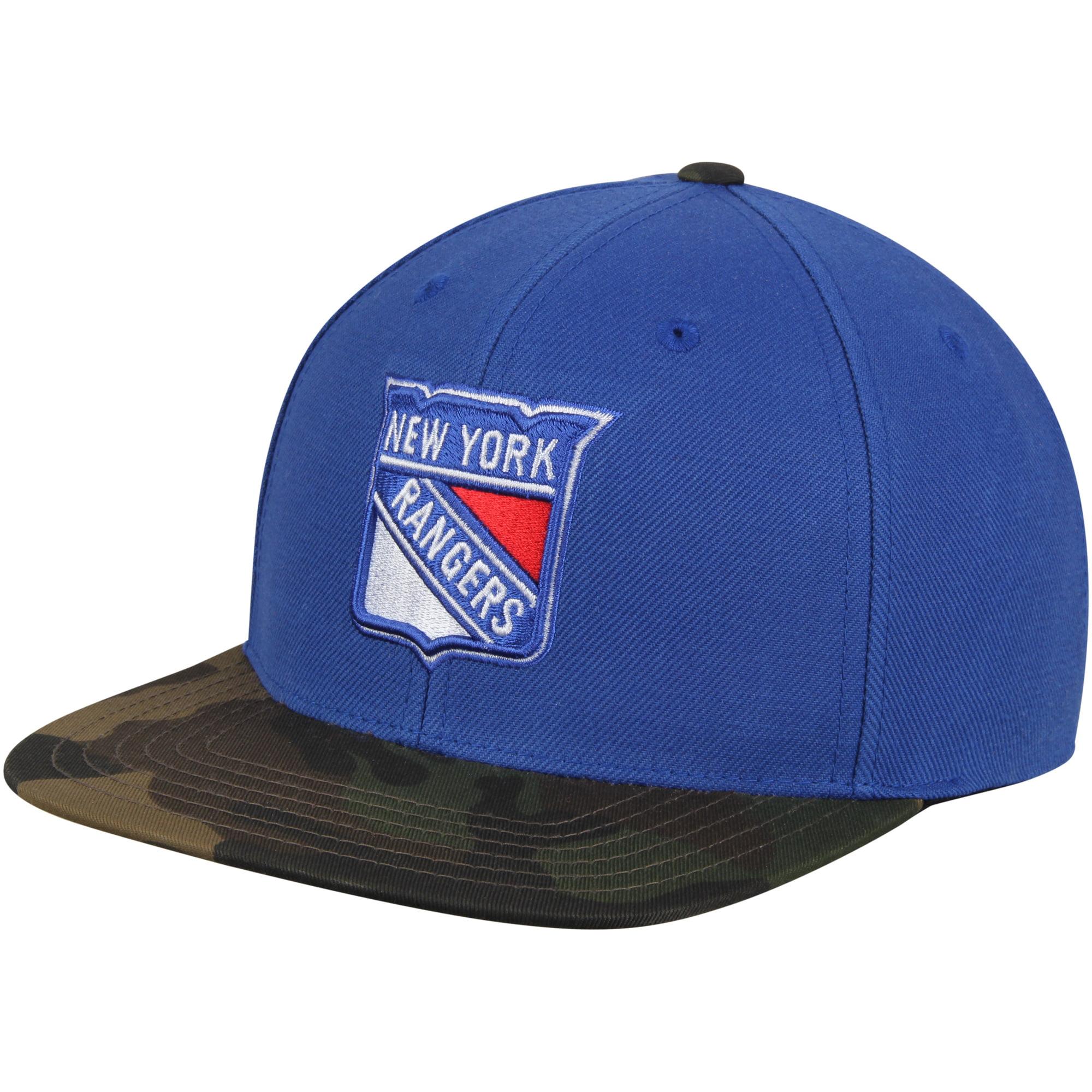 New York Rangers American Needle Sundown Snapback Adjustable Hat - Blue - OSFA