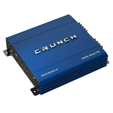 Blue Combo Amplifier (Crunch PowerDriveX 1000 Watt 4 Channel Exclusive Blue A/B Car Stereo)