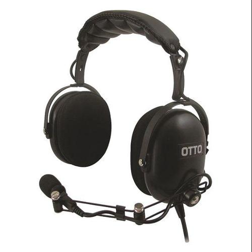 OTTO V4-10080-S Over The Head Headset,Black CycoloyResin