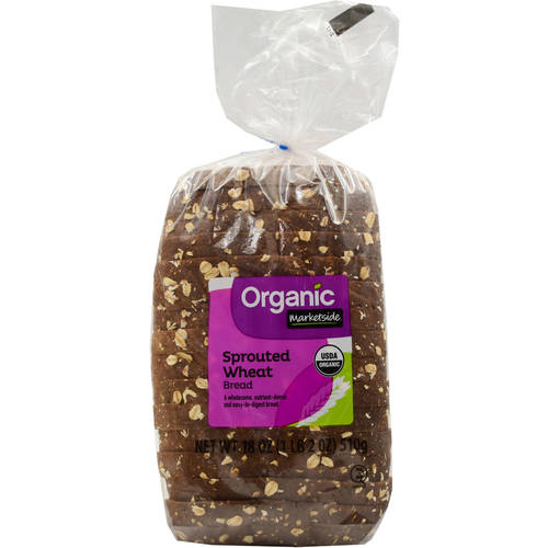 Marketside Organic Sprouted Wheat Bread