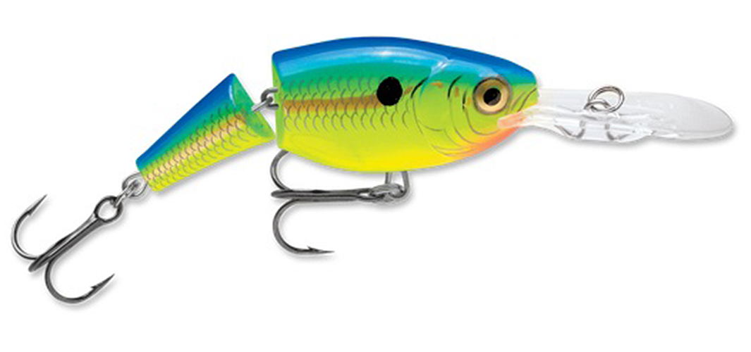 Rapala Jointed Shad Rap 05 Fishing Lure Parrot by Rapala