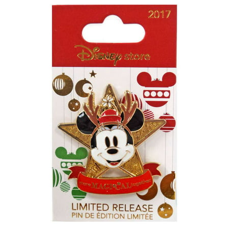 Holiday 2017 Minnie Mouse Pin
