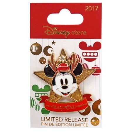 Holiday 2017 Minnie Mouse Pin (Disney Pins Halloween 2017)