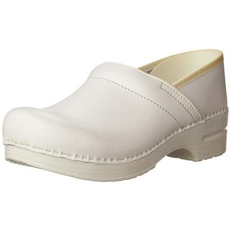 Dansko Women's Professional Box Leather (Danesco White Porcelain)