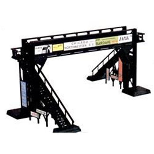 SPW BAC45172 Building Toys Plastic Pedestrian Bridge Snap Kit HO