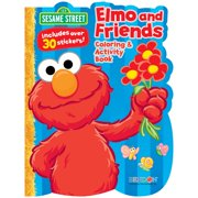 Sesame Street Coloring & Activity Book (Each) - Party Supplies