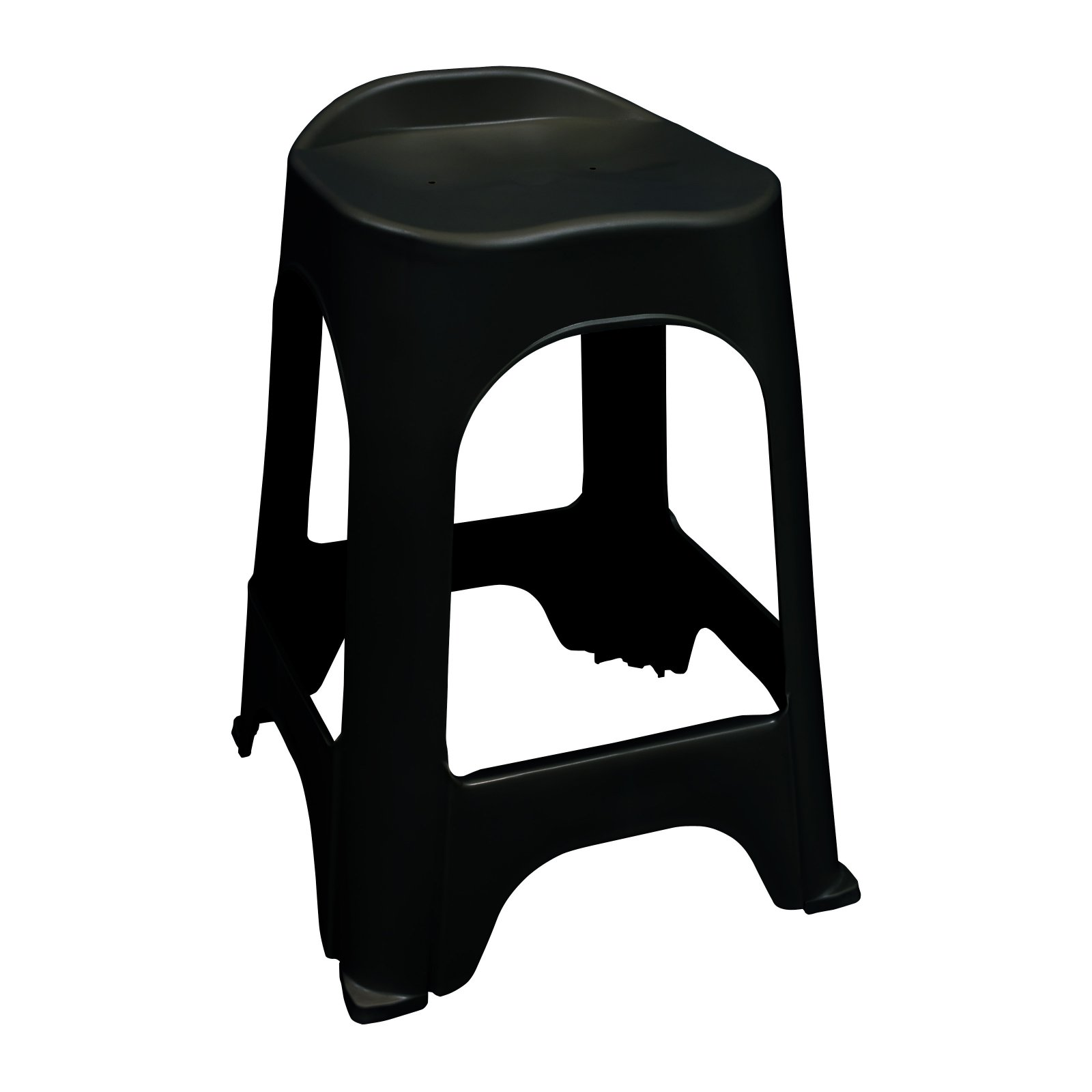 RealComfort Barstool- Black - Set of 2