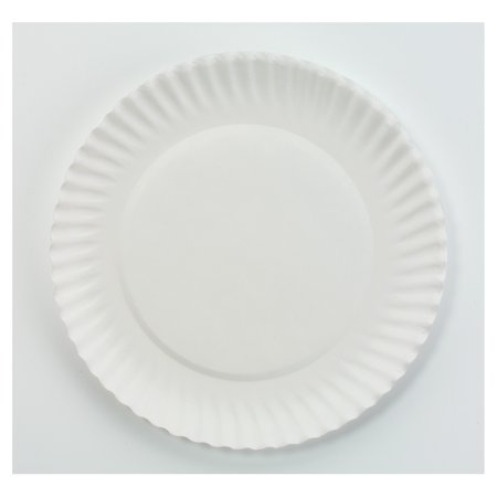 AJM Packaging Corporation 6 Inch Paper Plates, 1000 ct