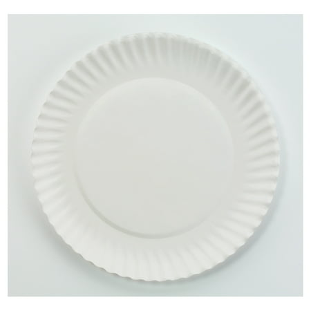 Image of AJM Packaging Corporation 6 Inch Paper Plates, 1000 ct