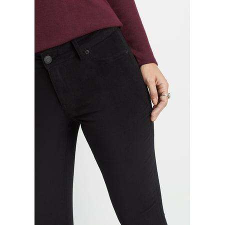 Midnight Rinse - DenimFlexTM velvet skinny pant