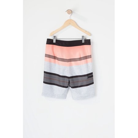 Urban Kids Youth Boys Eco-Friendly REPREVE® Striped Colour Block Board Short - image 3 of 3