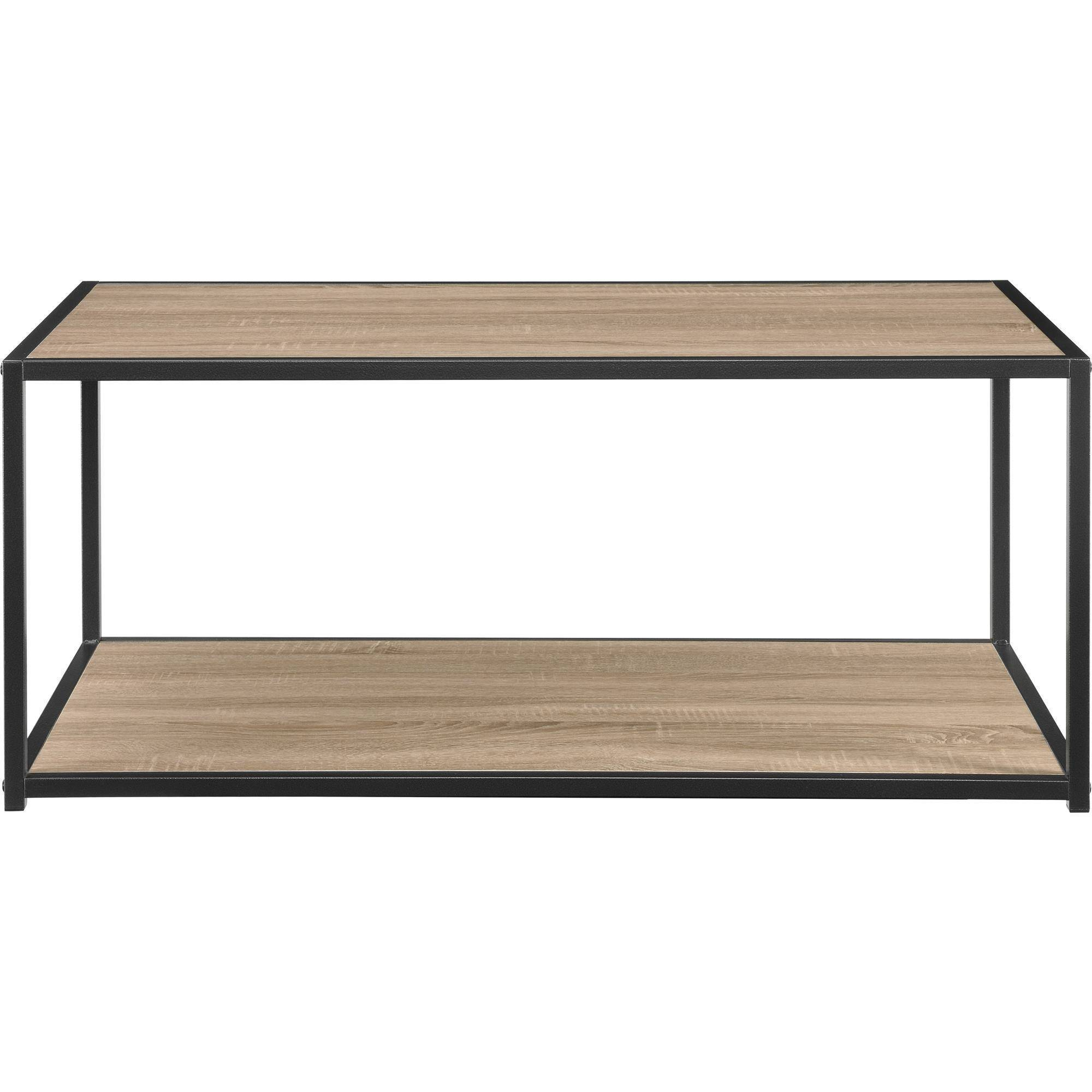 mason ridge coffee table with metal frame walmartcom
