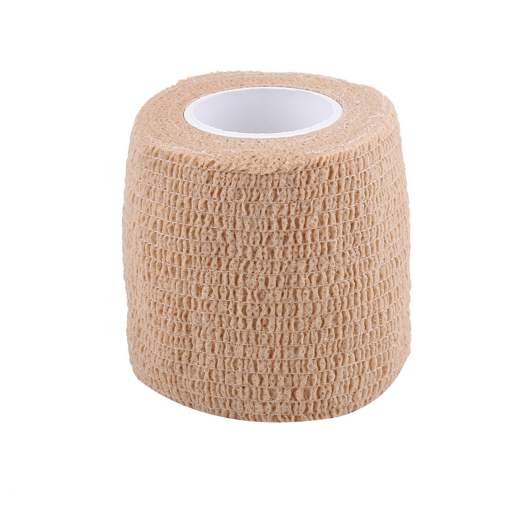 Yosoo 5 Rolls /set Waterproof Self Adhesive Bandage Tape Finger Joints Wrap Sports Care,Self Adhesive Bandage ,Elastic Bandage