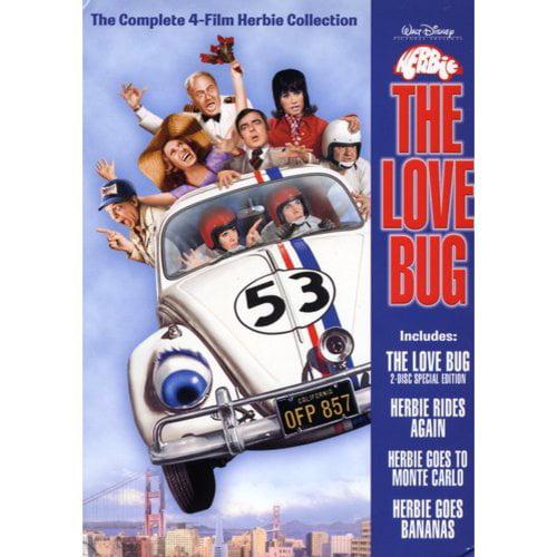 Herbie the Love Bug Collection (The Love Bug/Herbie Goes to Monte Carlo/Herbie Goes Bananas/Herbie Rides Again)