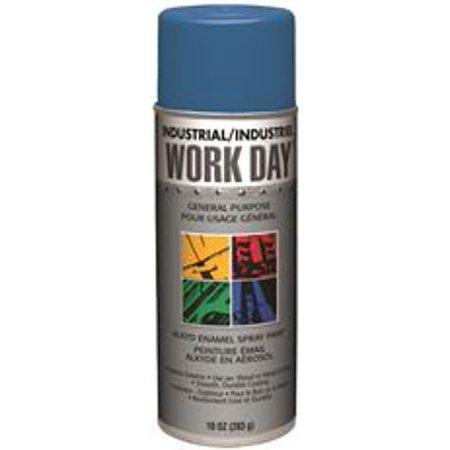 Krylon Spray Enamel  10 Oz  Can  Royal Blue